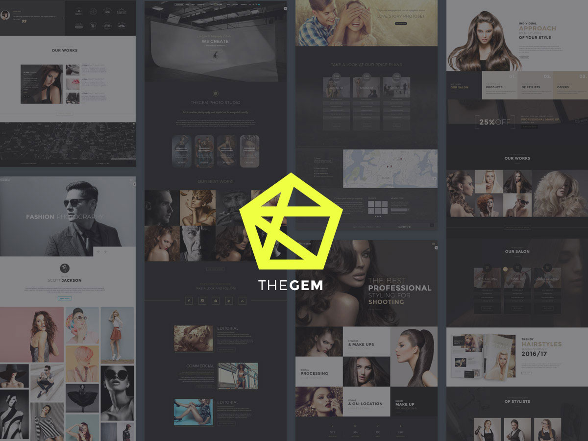 Most popular theme for photographers