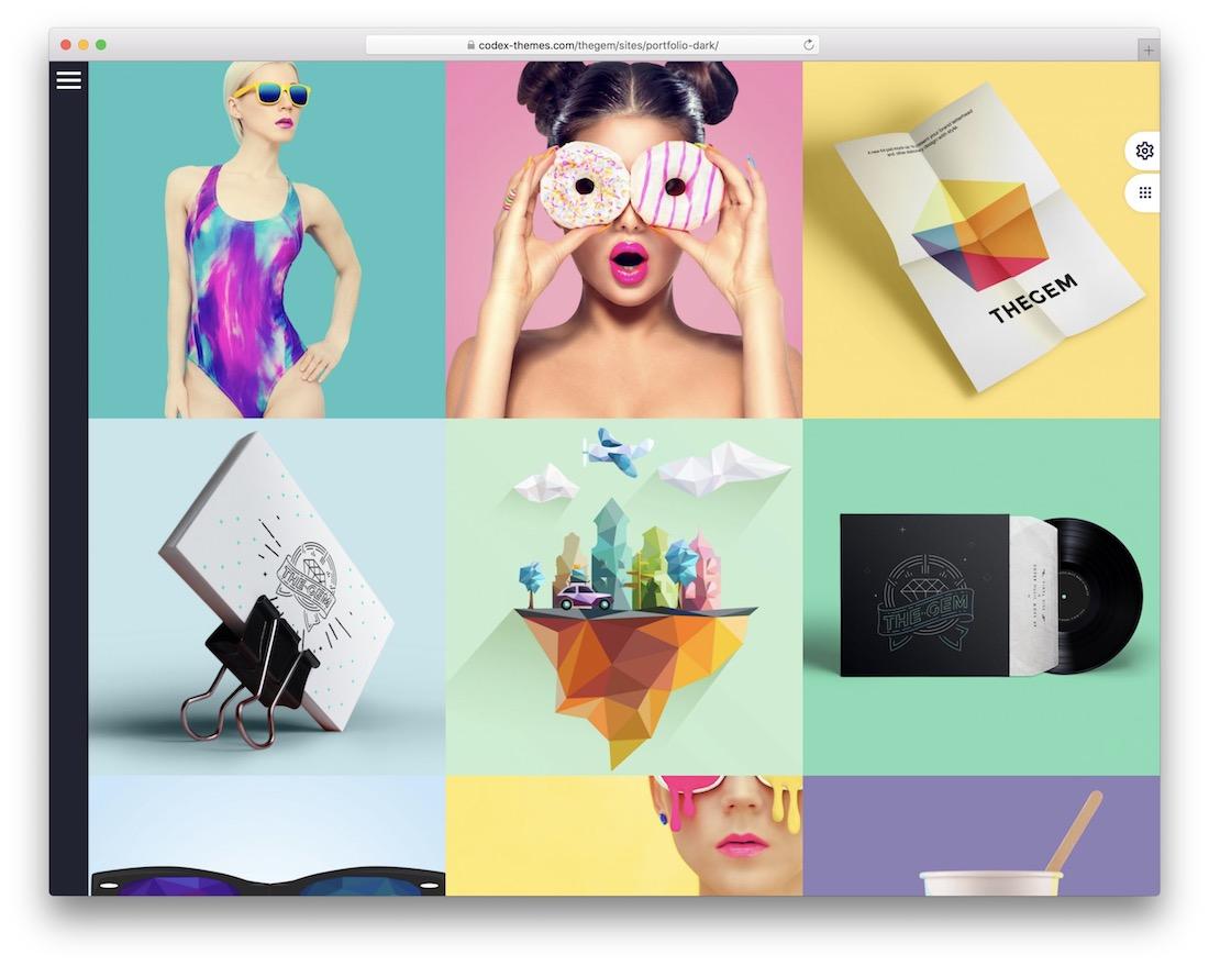 thegem portfolio wordpress theme