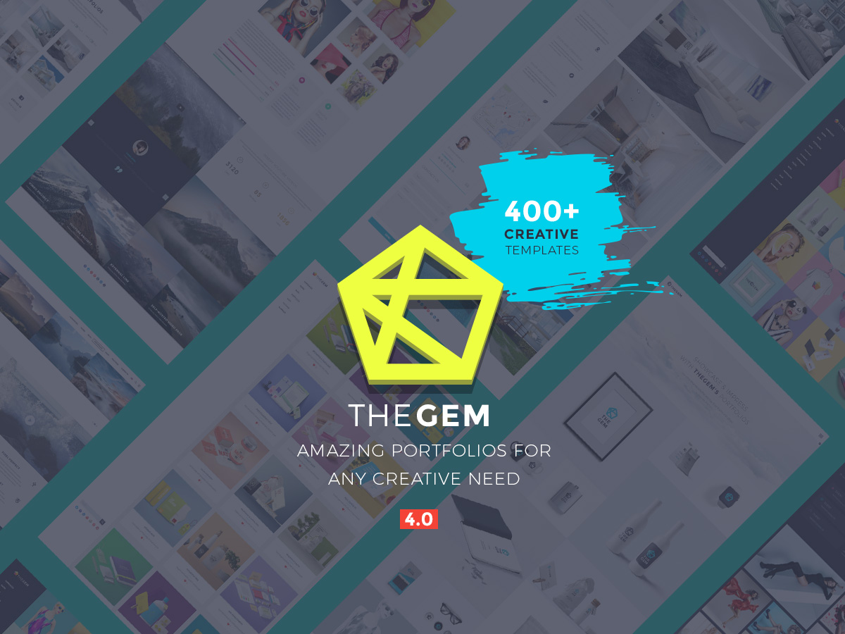 TheGem multipurpose portfolio WordPress theme