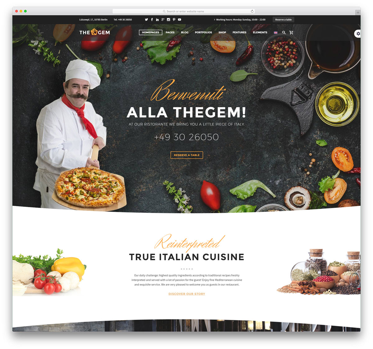 30+ Best WordPress Restaurant Themes 2017 - Colorlib