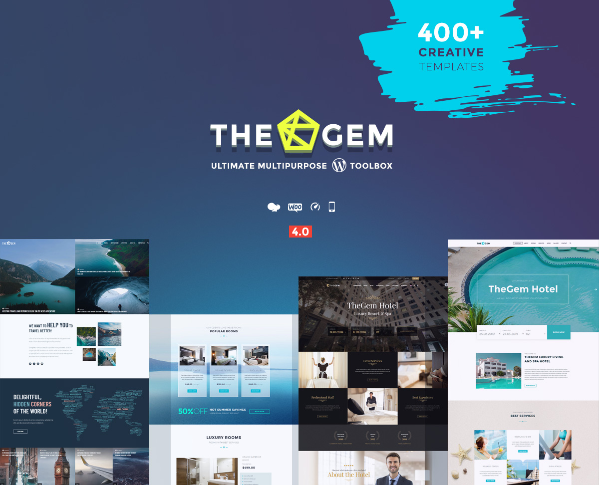 TheGem - hotel and agency booking WordPress theme