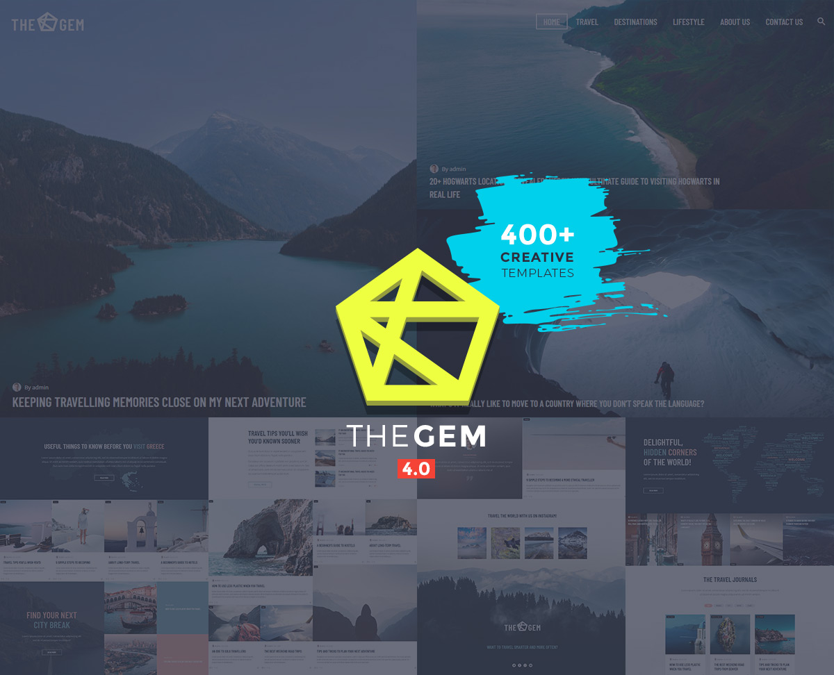 TheGem - travel blog and magazine theme