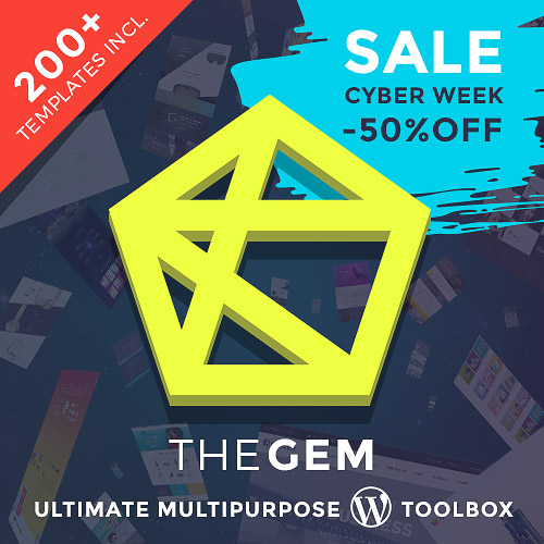 TheGem Multipurpose Themes Black Friday Deal