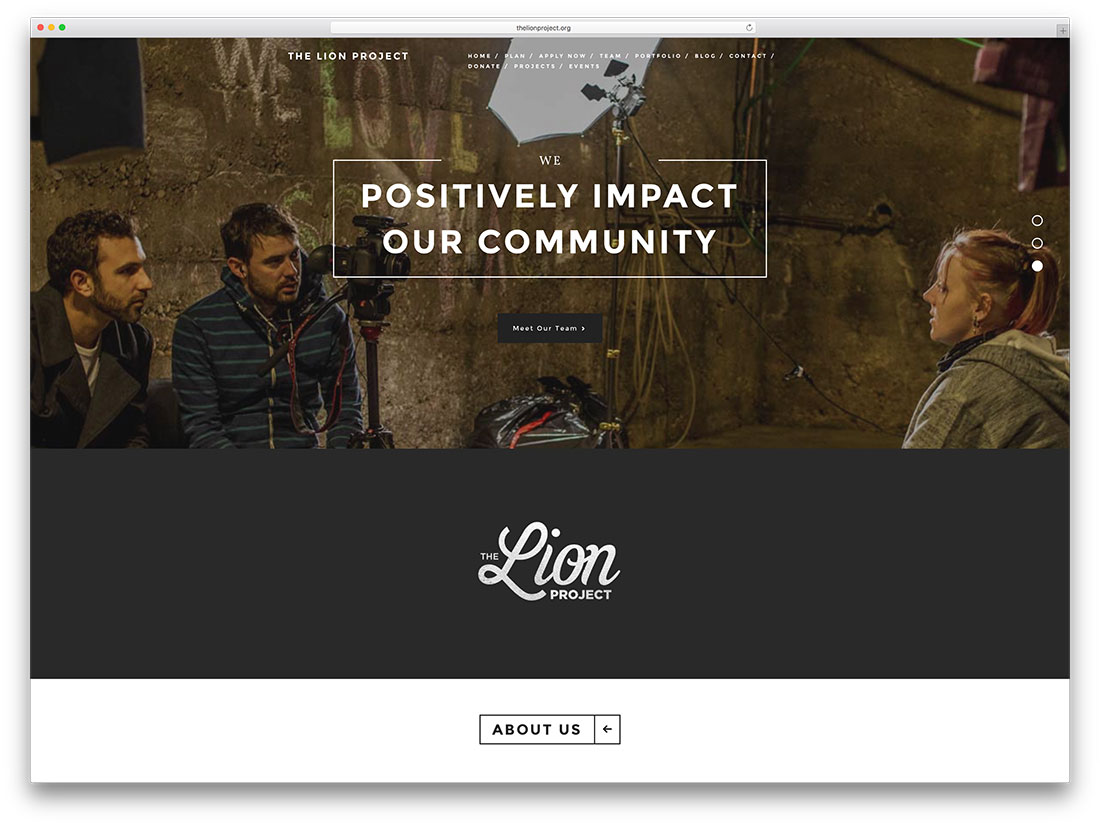 thelionproject-community-site-with-woocommerce