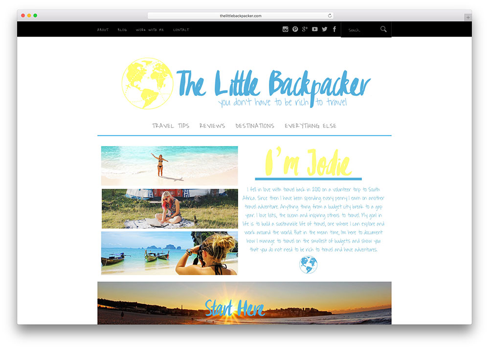 blog example travel websites