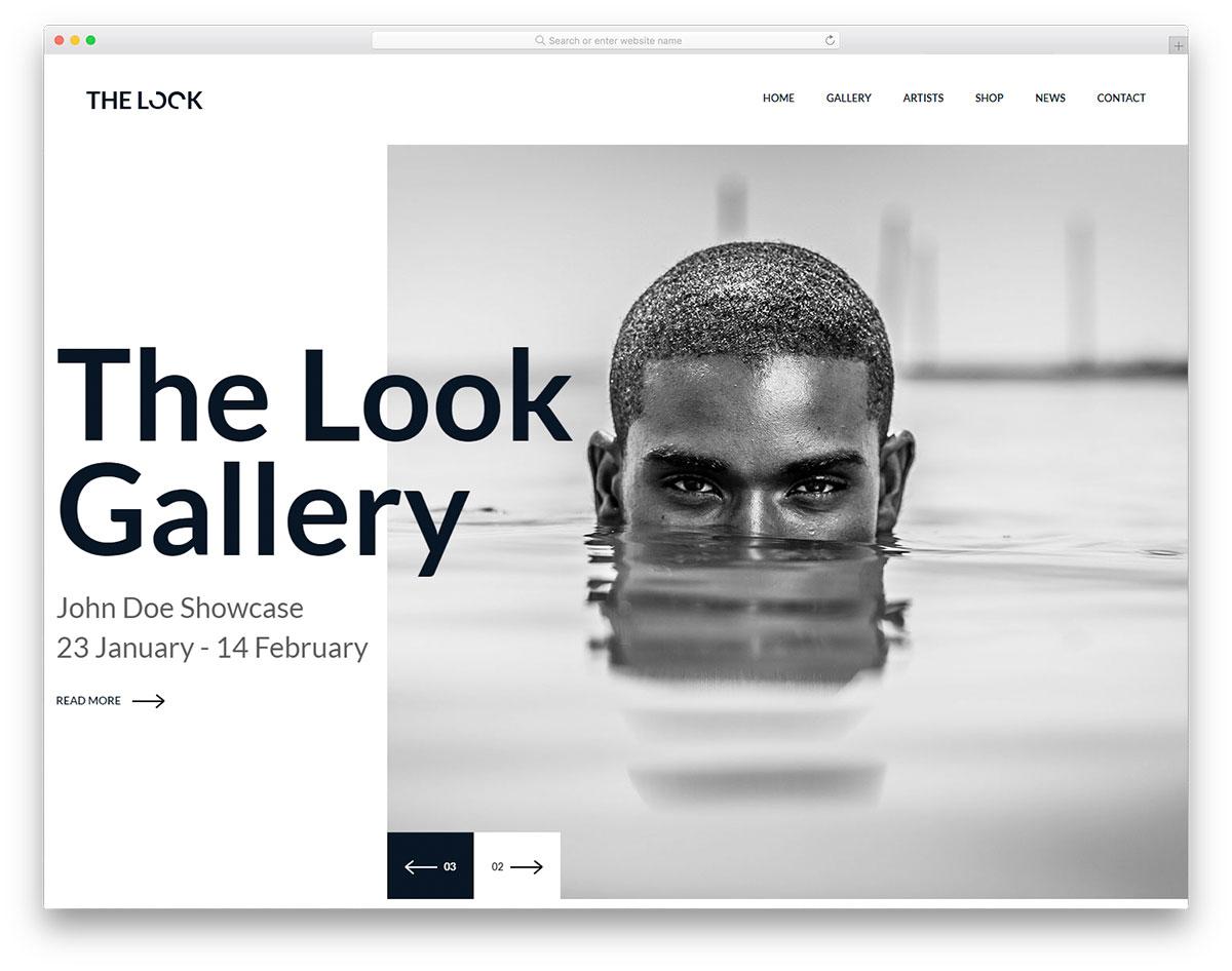 Скачать бесплатно html шаблон TheLook