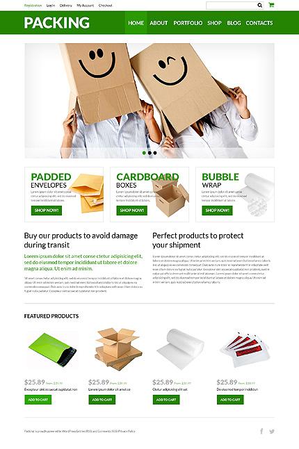 Packing Company eStore WooCommerce Theme