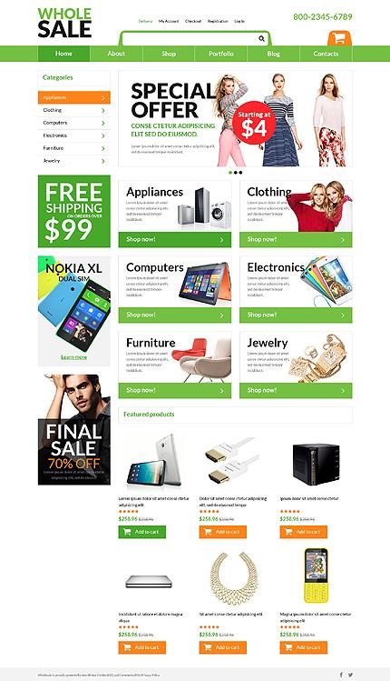 Online Wholesaling Business WooCommerce Theme