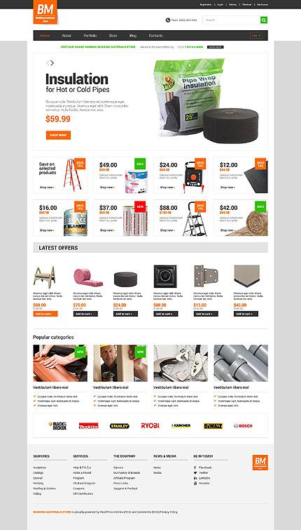 Home Repairs Responsive WooCommerce Theme