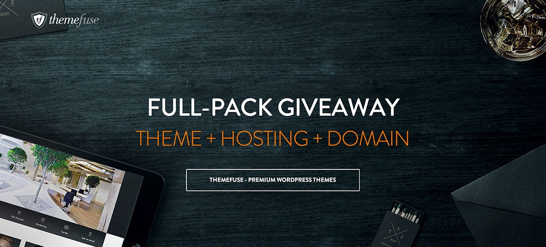 Exclusive Giveaway from ThemeFuse: Win a full fledged website (WordPress Theme + 1 Year Hosting Plan + 1 Optional Free Domain) [CLOSED]