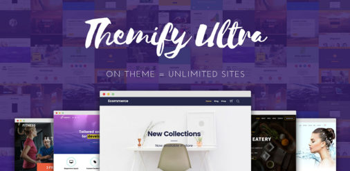 Themify Ultra Promo Theme