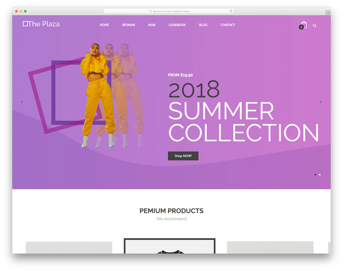 16 best free fashion website templates 2019 colorlib.