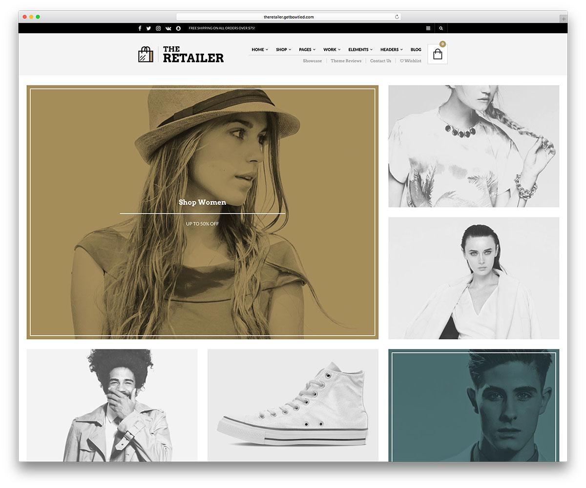 theretailer-creative-fashion-shop-template