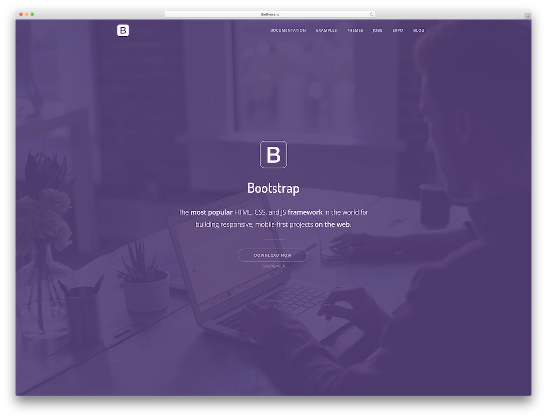 thesaas software company website template