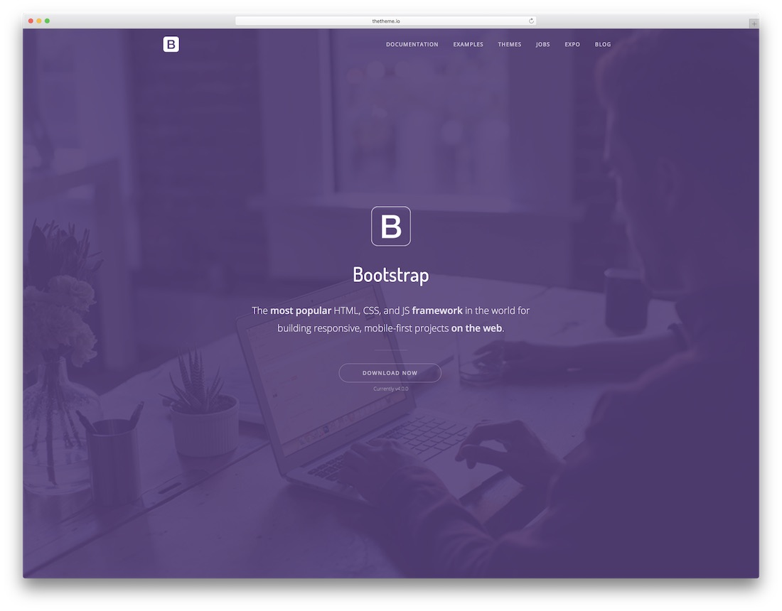 thesaas technology website template