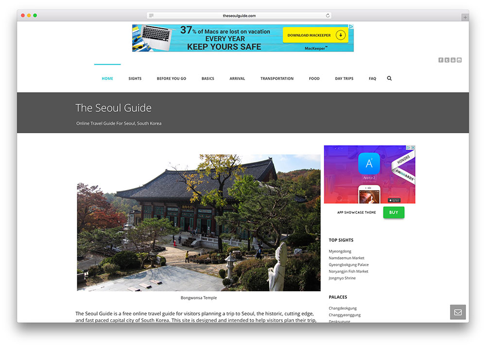 theseoulguide-personal-travel-side-with-adsense-jupiter