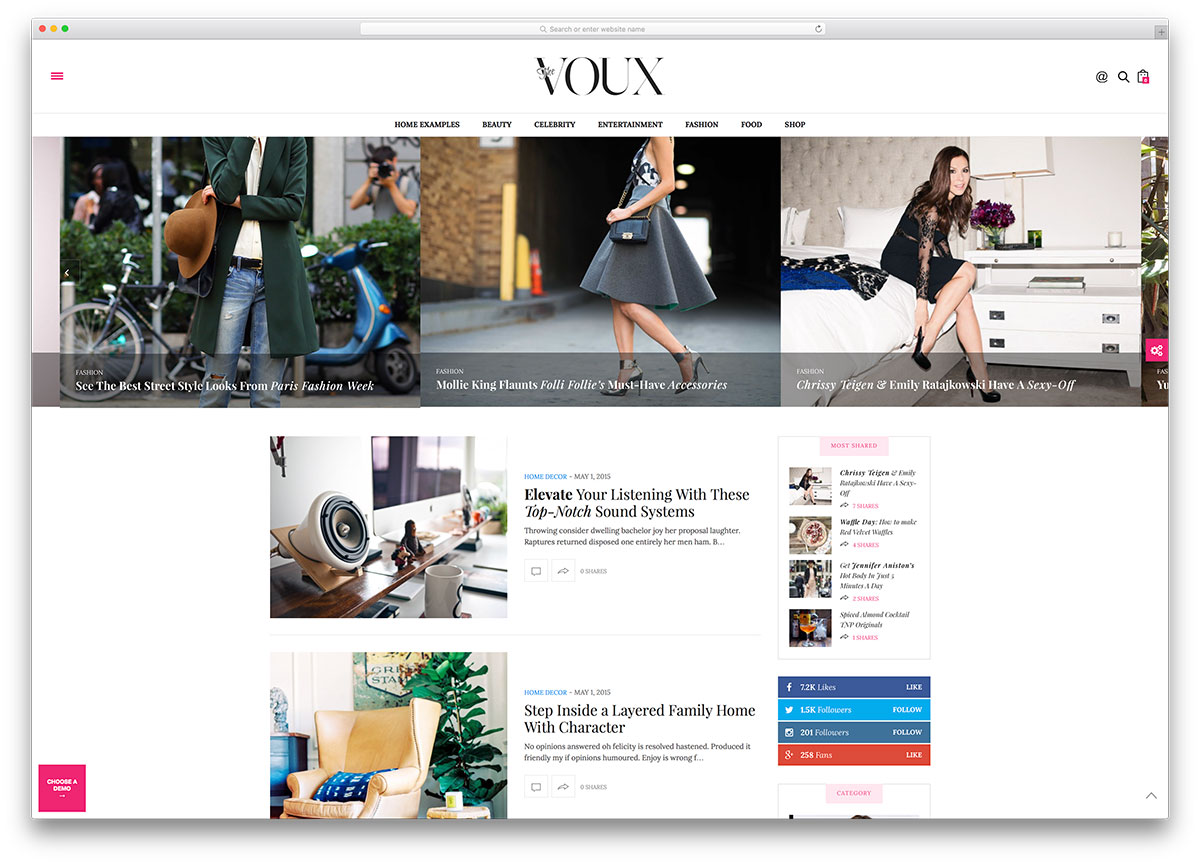 thevoux-light-wordpress-blog-theme