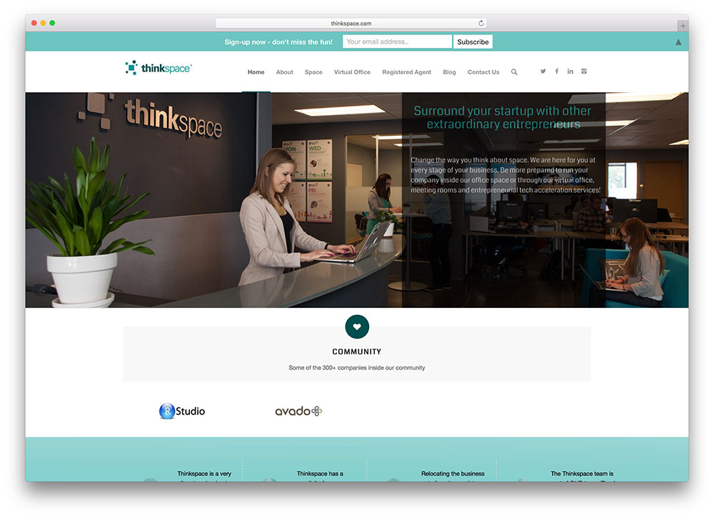 thinkspace-startup-landing-page-example-using-enfold-wordpress