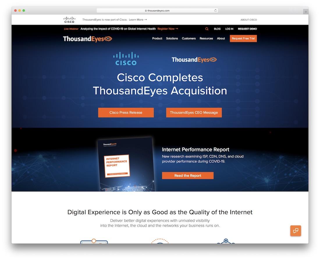 thousandeyes monitoring tool
