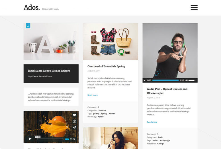 3 Column WordPress Themes
