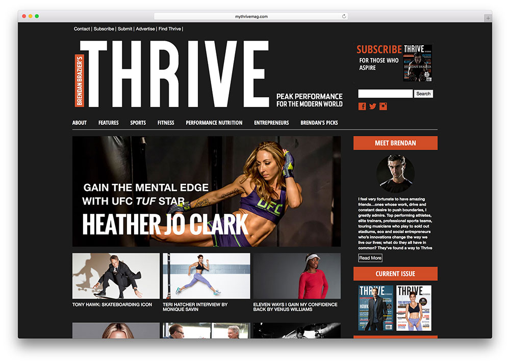 thrive-dark-themed-website