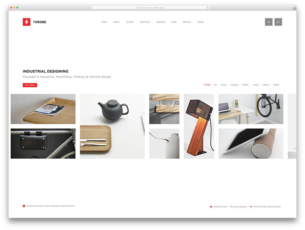 throne-unique-wordpress-portfolio-website-template