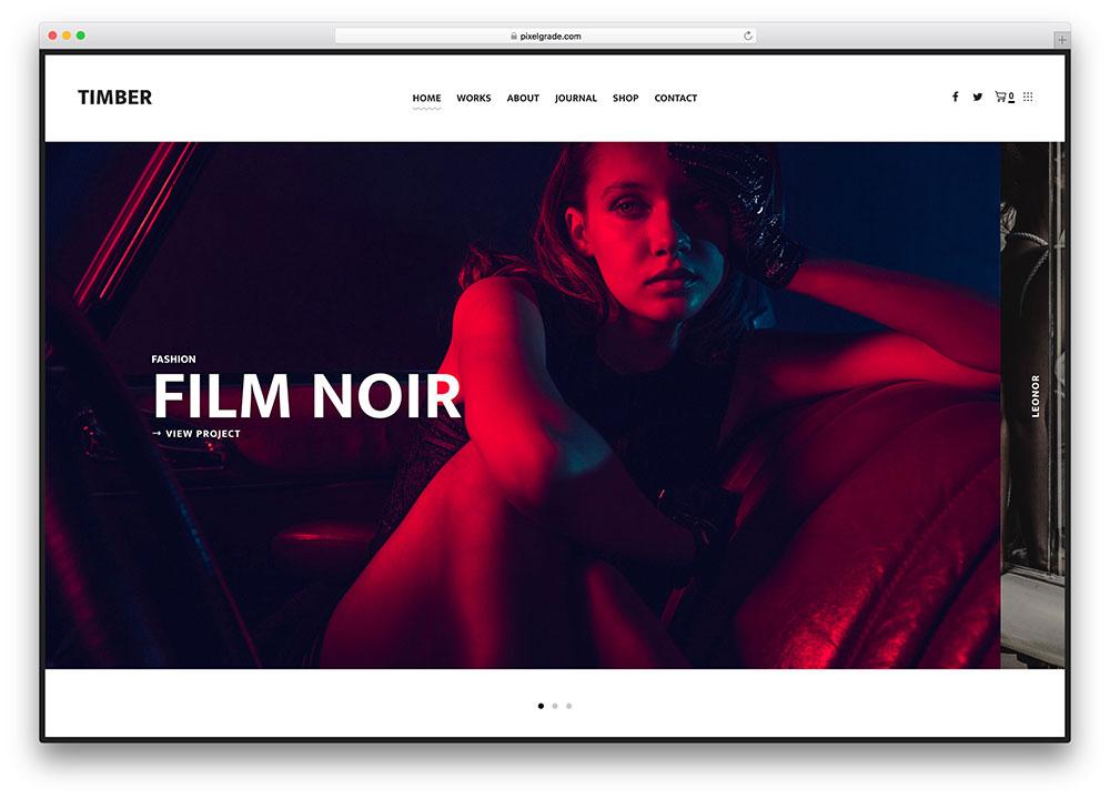 timber-creative-photography-portfolio-wordpress-theme