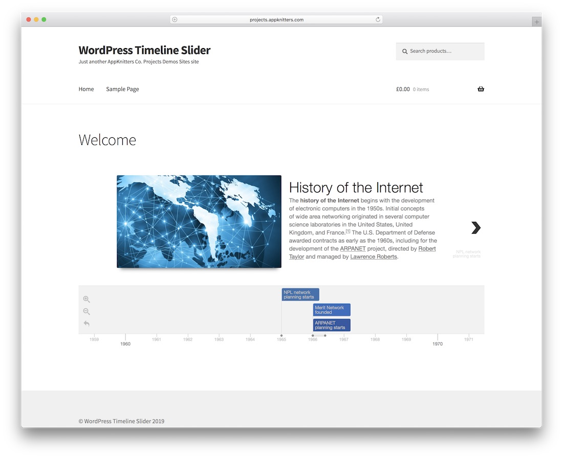timeline slider wordpress plugin