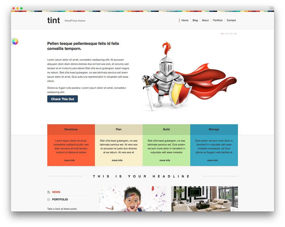 30  Beautiful   Free WordPress Portfolio Themes 2016   Colorlib UXcqhLMo