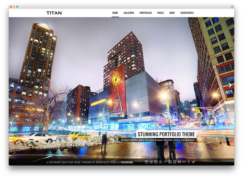 titan - bright photography theme