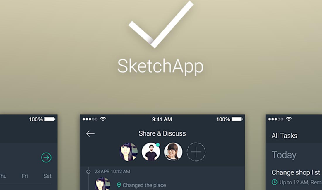 25+ Sketch UI Kits for a Productive Creative Flow & Process 2018