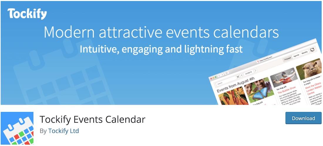 tockify event calendar plugin