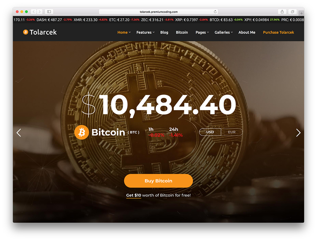 29 Best Bitcoin & Cryptocurrency WordPress Themes 2019 - Colorlib