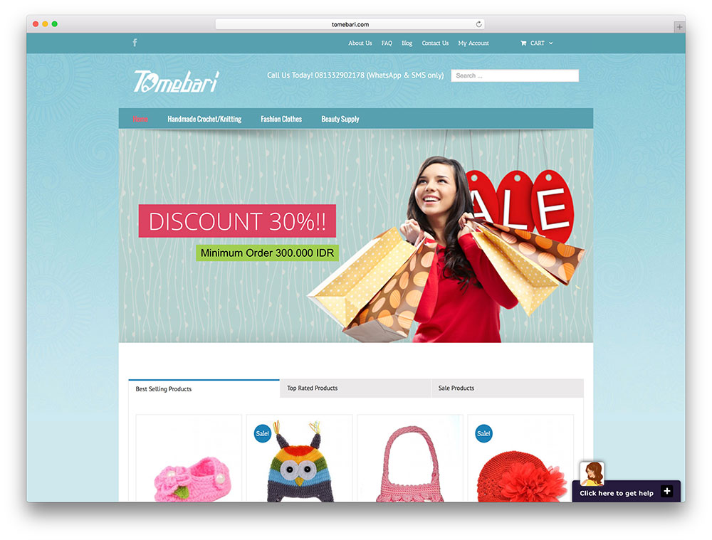 tomebari-avada-powered-website