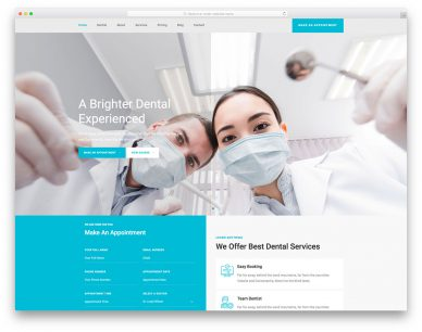 Toothcare Colorlib Template