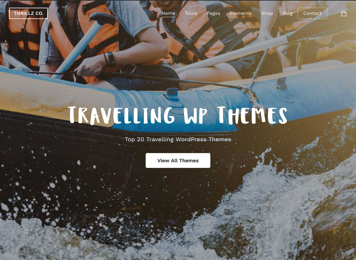 Top 20 Travelling Wordpress Themes