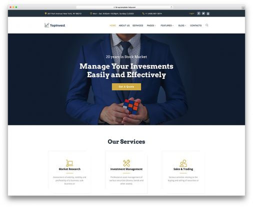 Top Business Wordpress Themes