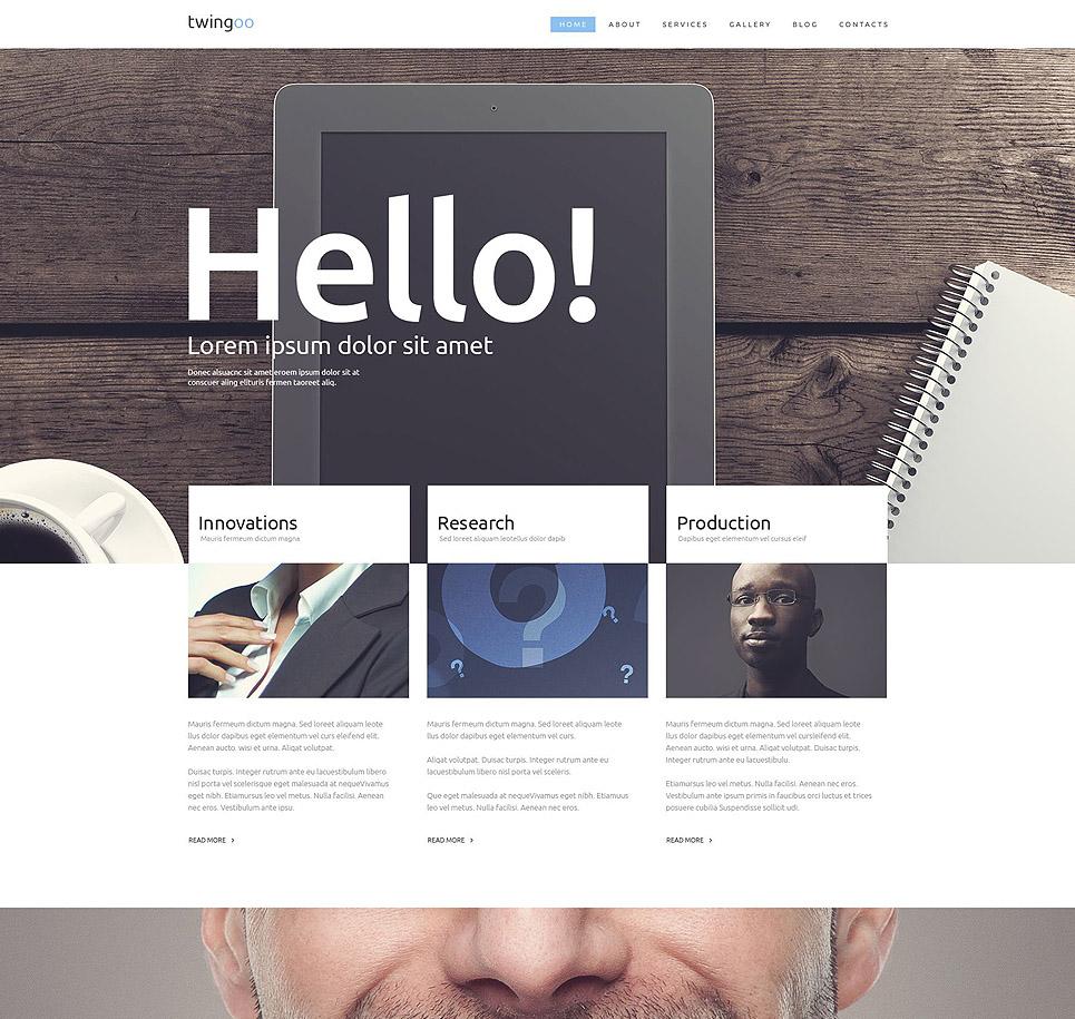 Business Promotion WordPress Theme