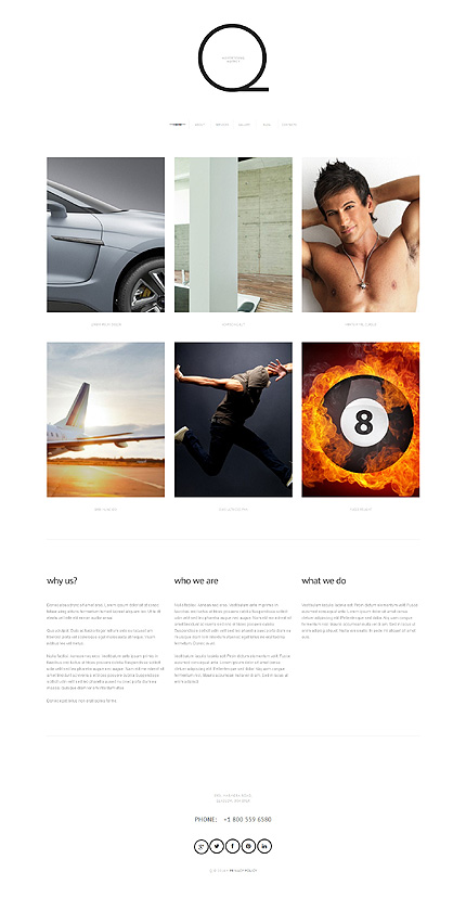 Advertising Agency Responsive WordPress Theme