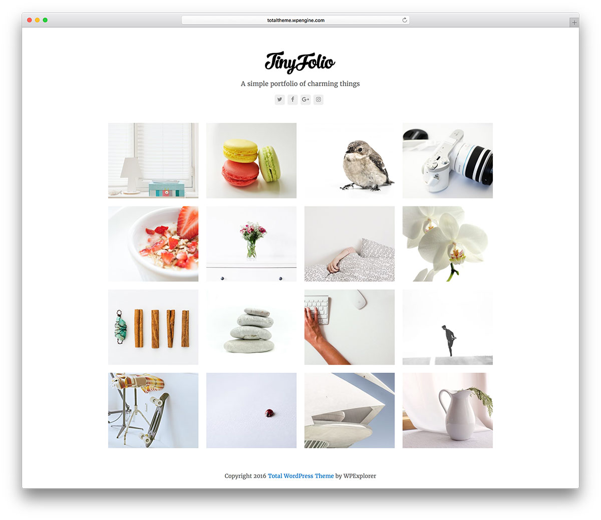 total-clean-wordpress-portfolio-theme