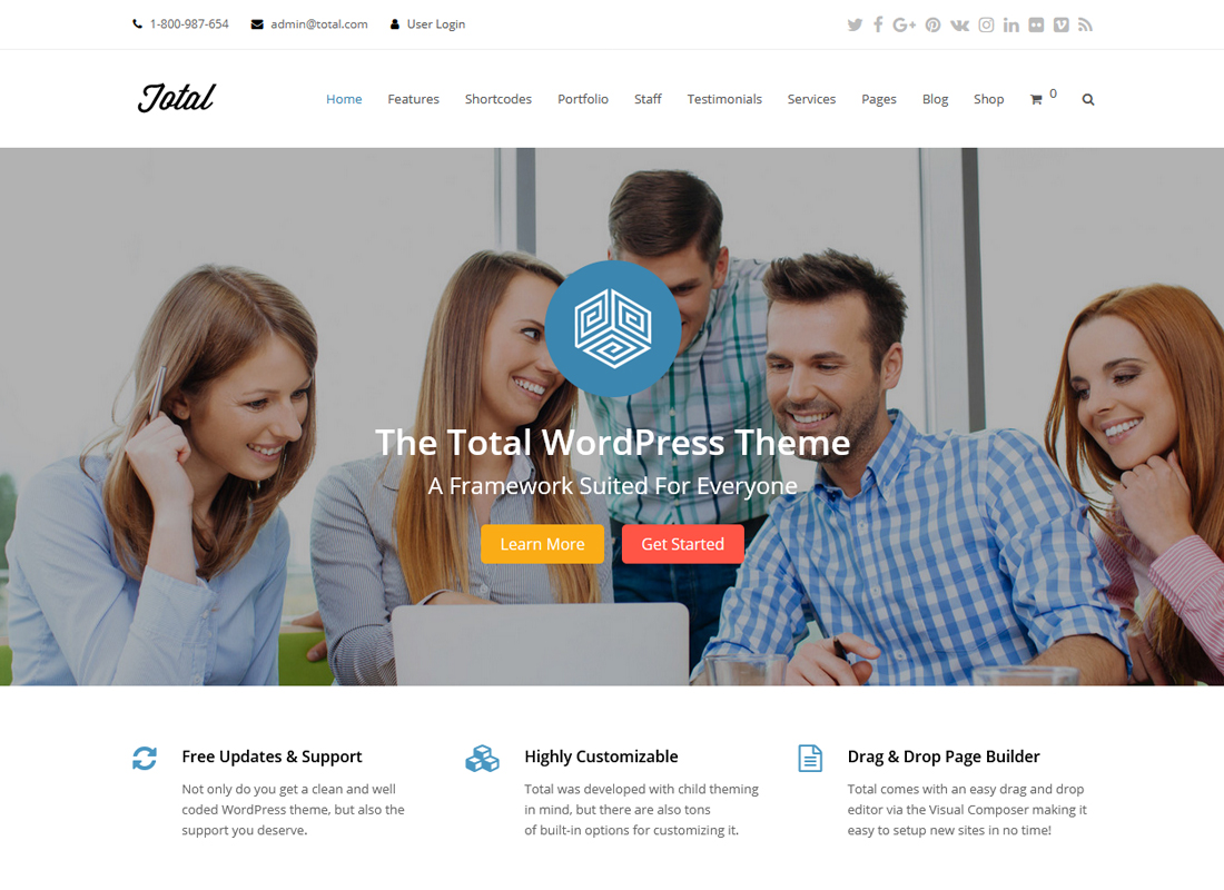 total-responsive-multipurpose-wordpress-theme