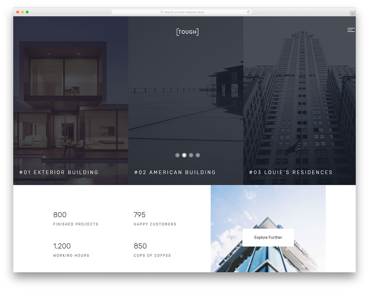 23 Best Free Construction Website Templates 2019 - Colorlib