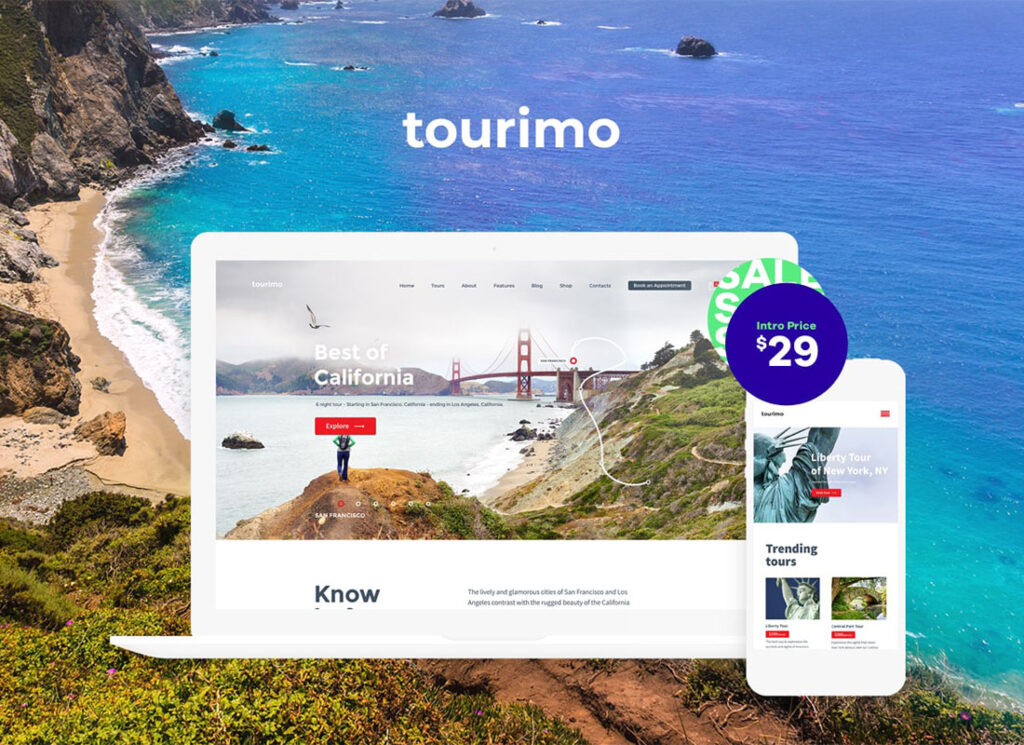Tourimo | Tour Booking WordPress Theme