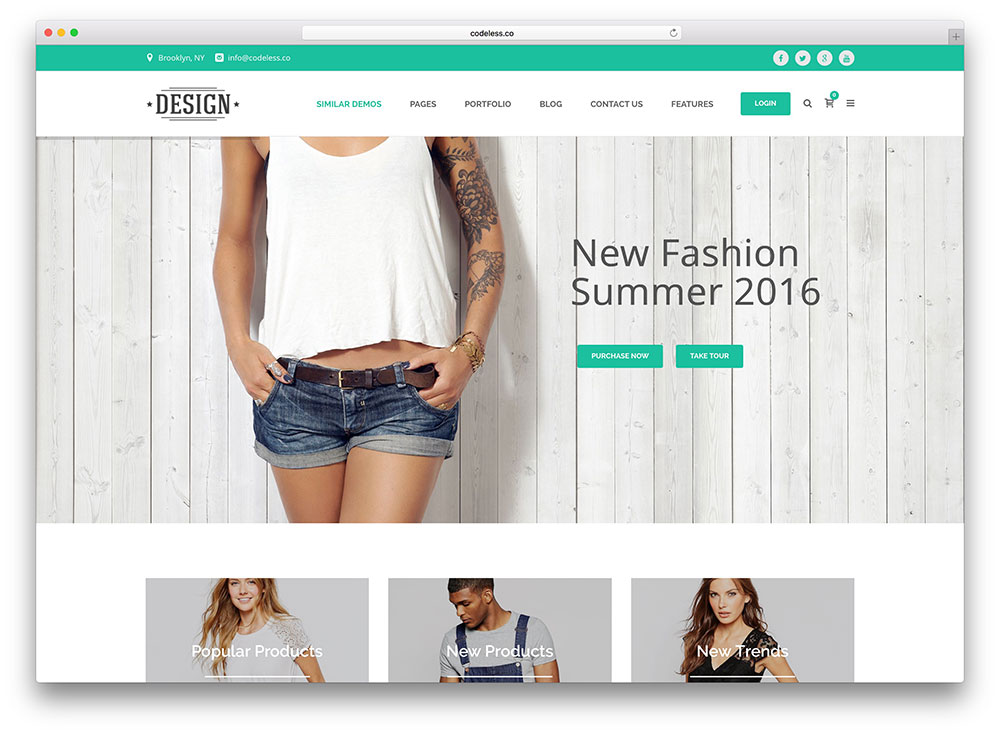 40 Best eCommerce WordPress Themes Powered by WooCommerce eStore ...