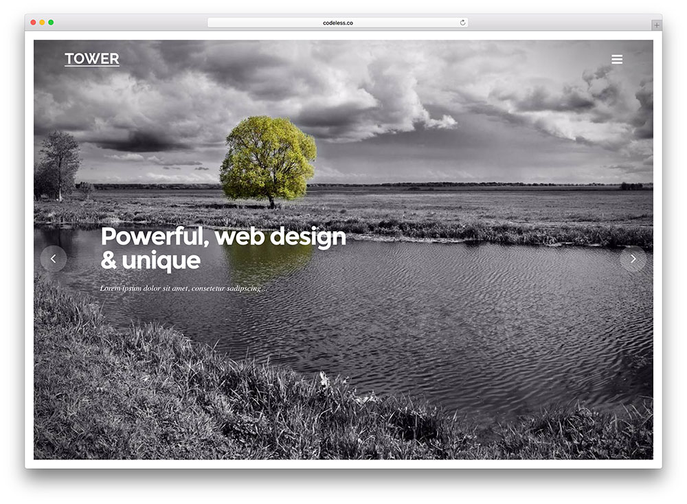 tower-fullscreen-photography-theme