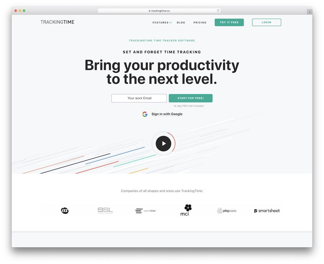 trackingtime task based time tracking tool