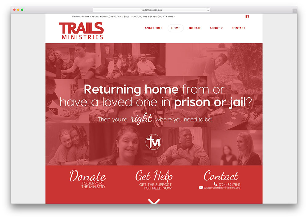 trailsministries-charity-site-example-using-x-theme