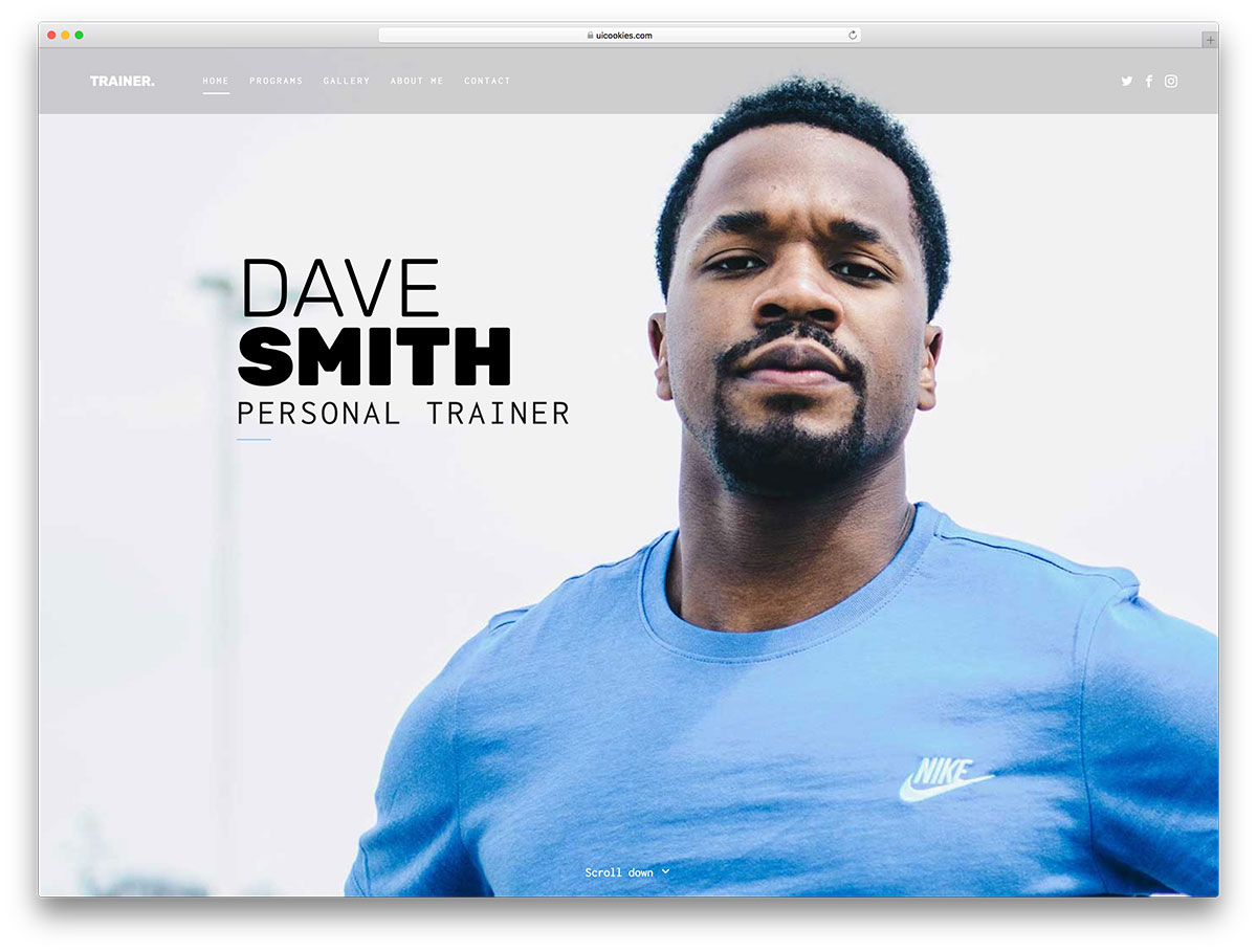 40 free responsive html5 business templates for startups 2018 colorlib they release free templates that have the design quality of expensive ones a very famous business type arises in the fitness category accmission Images