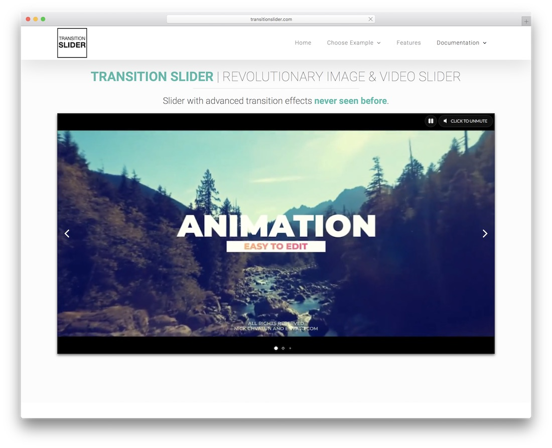 transition slider jquery plugin