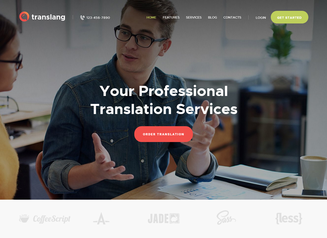 Translang   Translation Services & Language Courses WordPress Theme